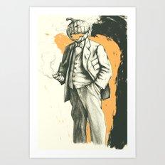 Headless Art Print