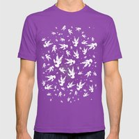 Deep Field Mens Fitted Tee Ultraviolet SMALL