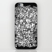 Misspent Youth Watercolo… iPhone & iPod Skin