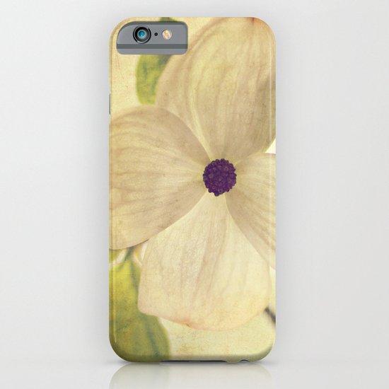 dogwood closeup iPhone & iPod Case