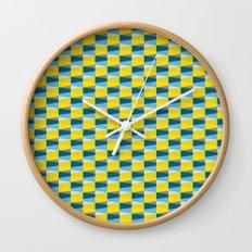 Aronde Pattern Wall Clock