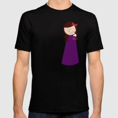 Rats are a Girl's Best Friend SMALL Black Mens Fitted Tee