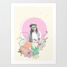 Happiness Art Print