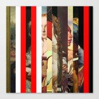 Stars in stripes 6+ Canvas Print