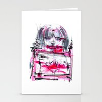 Fuck Machine Stationery Cards