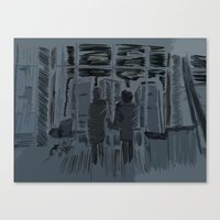 You Met Me At A Very Strange Time In My Life Canvas Print