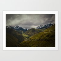 The Andes Art Print