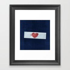 Red Valentine Framed Art Print