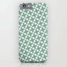 Mint Leaf Pattern iPhone 6s Slim Case