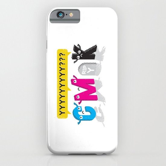 Four Colors and a Funeral iPhone & iPod Case