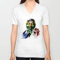 Nelson Mandela Unisex V-Neck