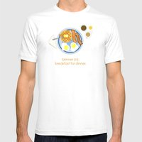 Brinner Mens Fitted Tee White SMALL