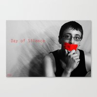 Day Of Silence (Derreck)… Canvas Print