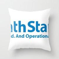 DeathStar Throw Pillow