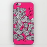 Elephants Never Forget T… iPhone & iPod Skin