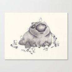 le club wombat Canvas Print
