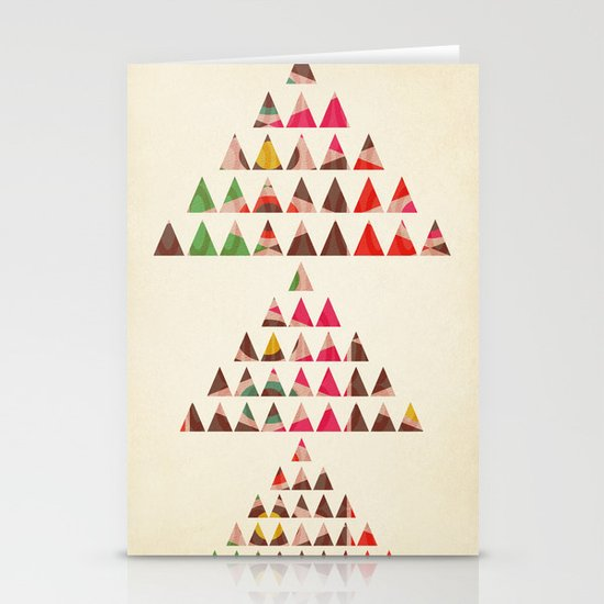 There Will Always Be Mountains To Climb Stationery Card