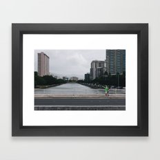 vctn 07 Framed Art Print