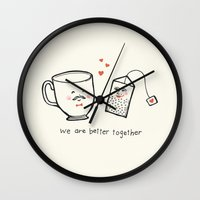 We Are Better Together -… Wall Clock