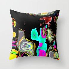 Bent Spots 1 B Throw Pillow