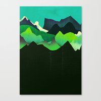 Landscape Slice Canvas Print