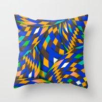 Wild Energy Throw Pillow