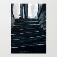 The Basement Bloody Reek… Canvas Print