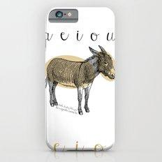 A  e  i  o  u    borriquito como tú Slim Case iPhone 6s