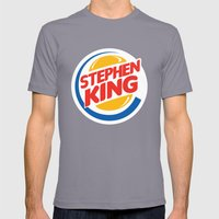 Stephen King Mens Fitted Tee Slate SMALL