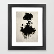 Last Tree Standing Framed Art Print