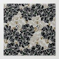 Patina Blossoms Canvas Print