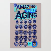 The Amazing Powers Of Ag… Canvas Print