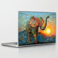 elephant Laptop & iPad Skins featuring Elephant's Dream by Waelad Akadan