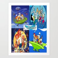 The Jetsons Art Print