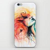 Metamorphosis-Bird of paradise iPhone & iPod Skin