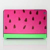 Watermelon Papercut iPad Case
