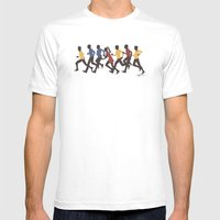 Away Mission: Star Trek Mens Fitted Tee White SMALL