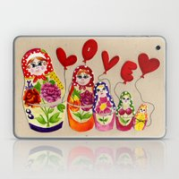 From Russia with Love Russian Dolls Laptop & iPad Skin