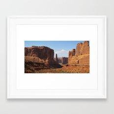 Park Avenue - Arches National Park Framed Art Print