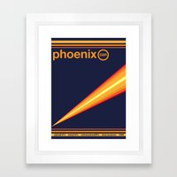 phoenix single hop Framed Art Print