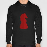 Red Chess Piece - Knight Hoody