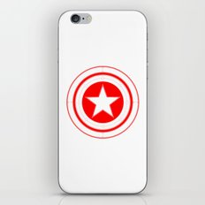 Capitaine Amérique iPhone & iPod Skin