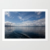 Infinite: Oslo Harbor Art Print