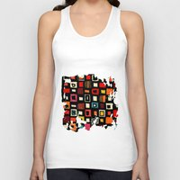 Living in a box Unisex Tank Top