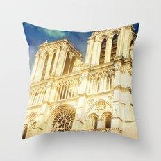 Notre Dame Throw Pillow