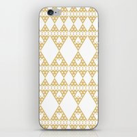 Golden Lace iPhone & iPod Skin