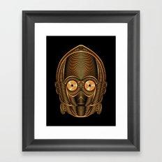 Star . Wars - C-3PO Framed Art Print