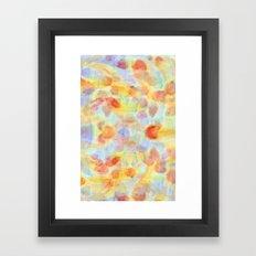 Fish Pond Framed Art Print