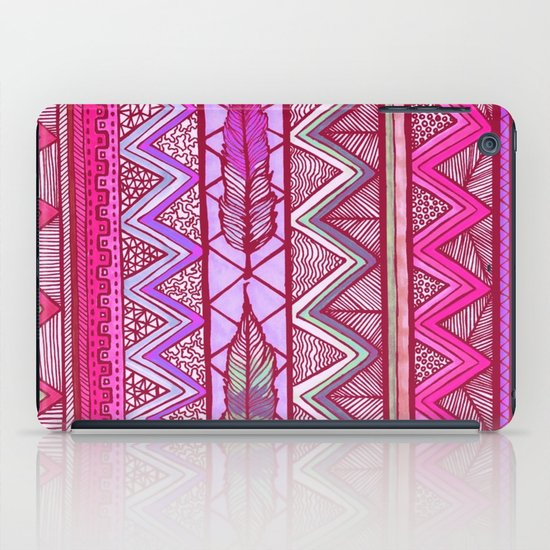 Two Feathers Two... iPad Case