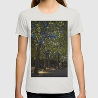 A slight touch of Romance Womens Fitted Tee Silver SMALL